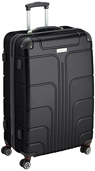 Luggage Zone Hard Shell Suitcase, Upright, Number Lock, 53/30/70 ...