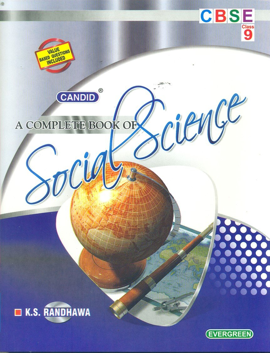 Candid A Complete Book of Social Science Class 9 - Vol. 1: Amazon.in: K. S.  Randhawa: Books