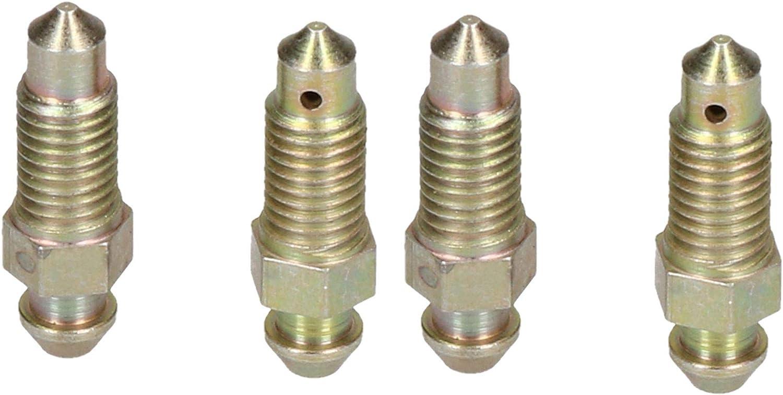 Ab Tools 7x1mm Stahl Bremssattel Entlüftungsnippel Schraube Entlüftungsschraube 4 Pc Baumarkt