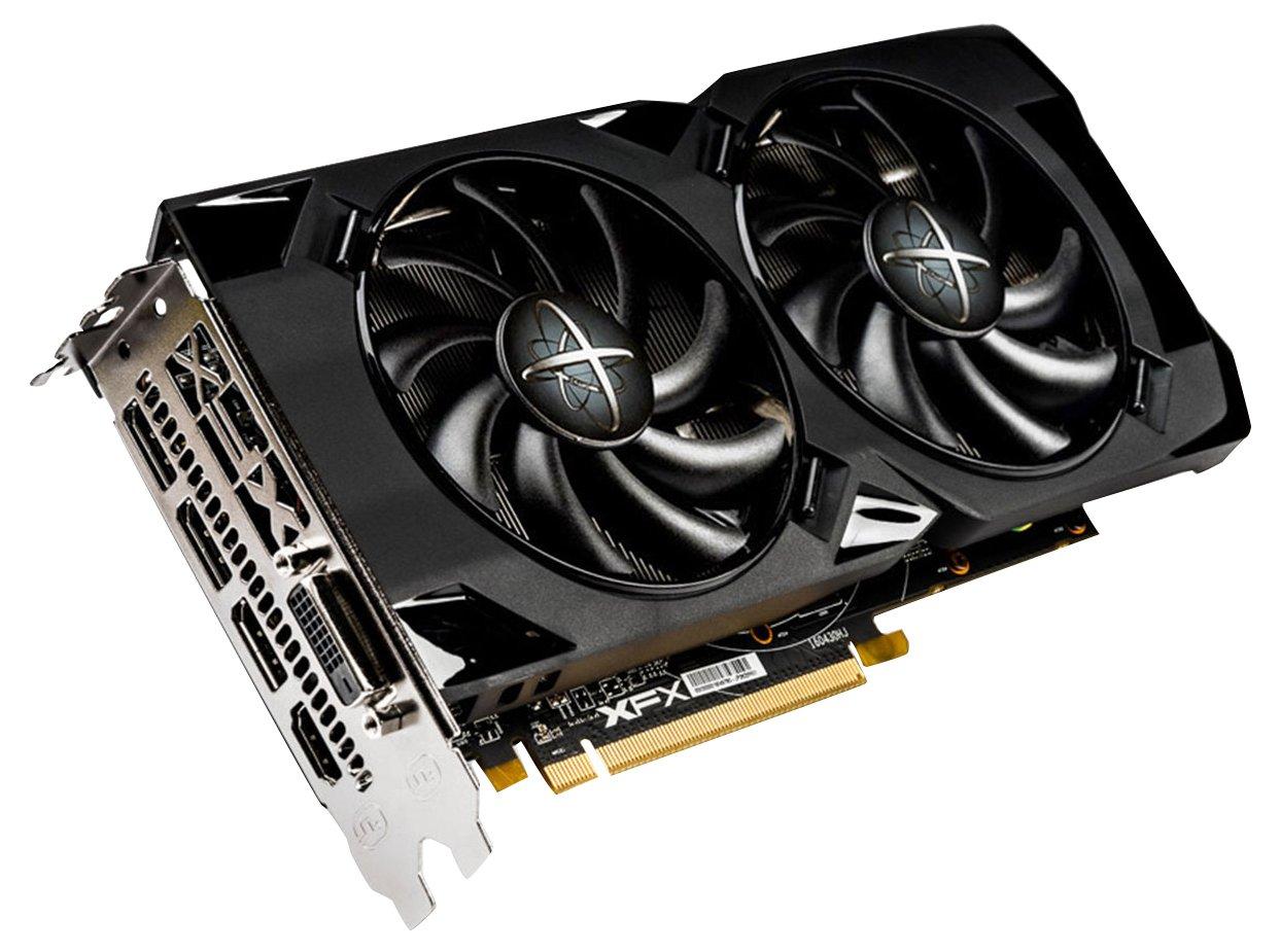 XFX RX-470P4LDB6 AMD Radeon RX 470 4GB - Tarjeta gráfica ...