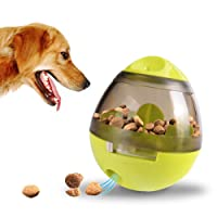 ALMAP Dog Treat Ball Dog Food Dispenser, Interactive Pet Dogs Snack Toys Ball Indestructible Dogs Bite Toys, Interactive Dog Snack Dispenser Toy