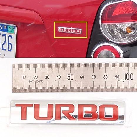 Trasera Turbo Emblema para GM Chevrolet Cruze TRAX Sonic OEM Partes