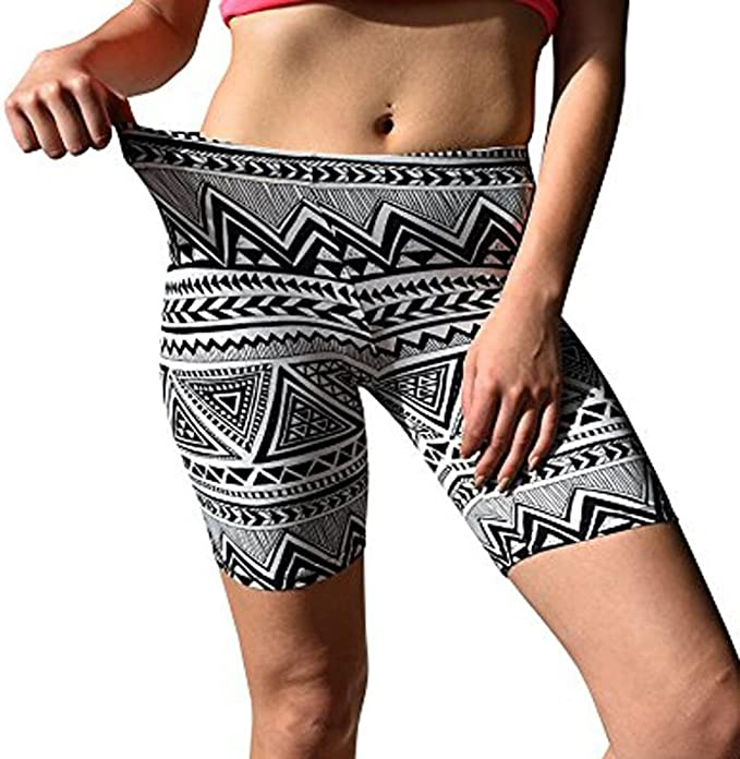 Amazon.com: Gillberry Womens Print Sport Pants Soft Brushed ...