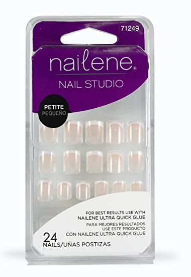 Amazon.com : Nailene Nail Studio Nails, Petite Size : False Nails : Beauty