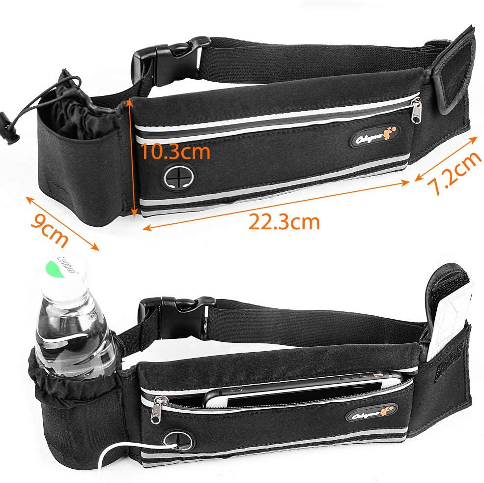 Odepro hs01 Ceinture Extensible Taille Pack Cyclisme Sac de Taille ...
