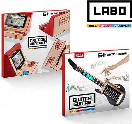 IDESION Kit de Variedad de Cartón Bricolaje DIY para Nintendo ...
