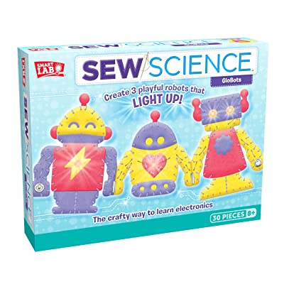 SmartLab Toys Sew Science: GloBots: Toys & Games