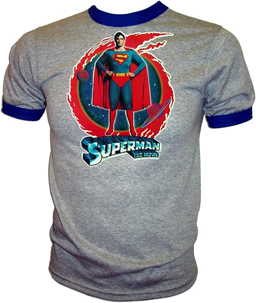 Superman 1978 retro Christopher Reeve enamel pin