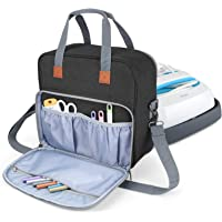 Luxja Carrying Case Compatible with Cricut Easy Press (9 inches x 9 inches), Tote Bag Compatible with Cricut Easy Press…