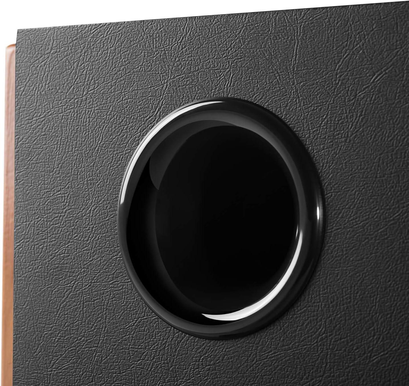 Bluetooth 5.0 mit aptX HD Edifier S1000MKII 2.0 Audiophile aktive Regallautsprecher 120 Watt Lautsprecher Aktivmonitor-Nahfeldlautsprecher mit Class-D-Verst/ärker optischer Eingang