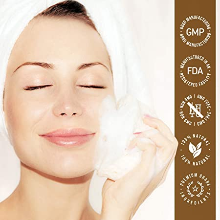 Jabón Despigmentante y Exfoliante Corporal Eco Masters – Para la Limpieza Facial - Purificación Profunda - Efecto Hidratante y Calmante - Sin Parabenos – Pack de 2-200g