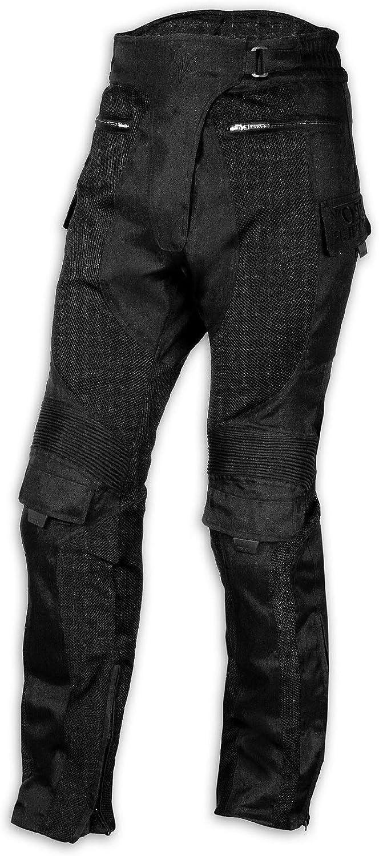 CE Armored Motorcycle Motorbike Waterproof Textile Mesh Trousers Racing MAN 28