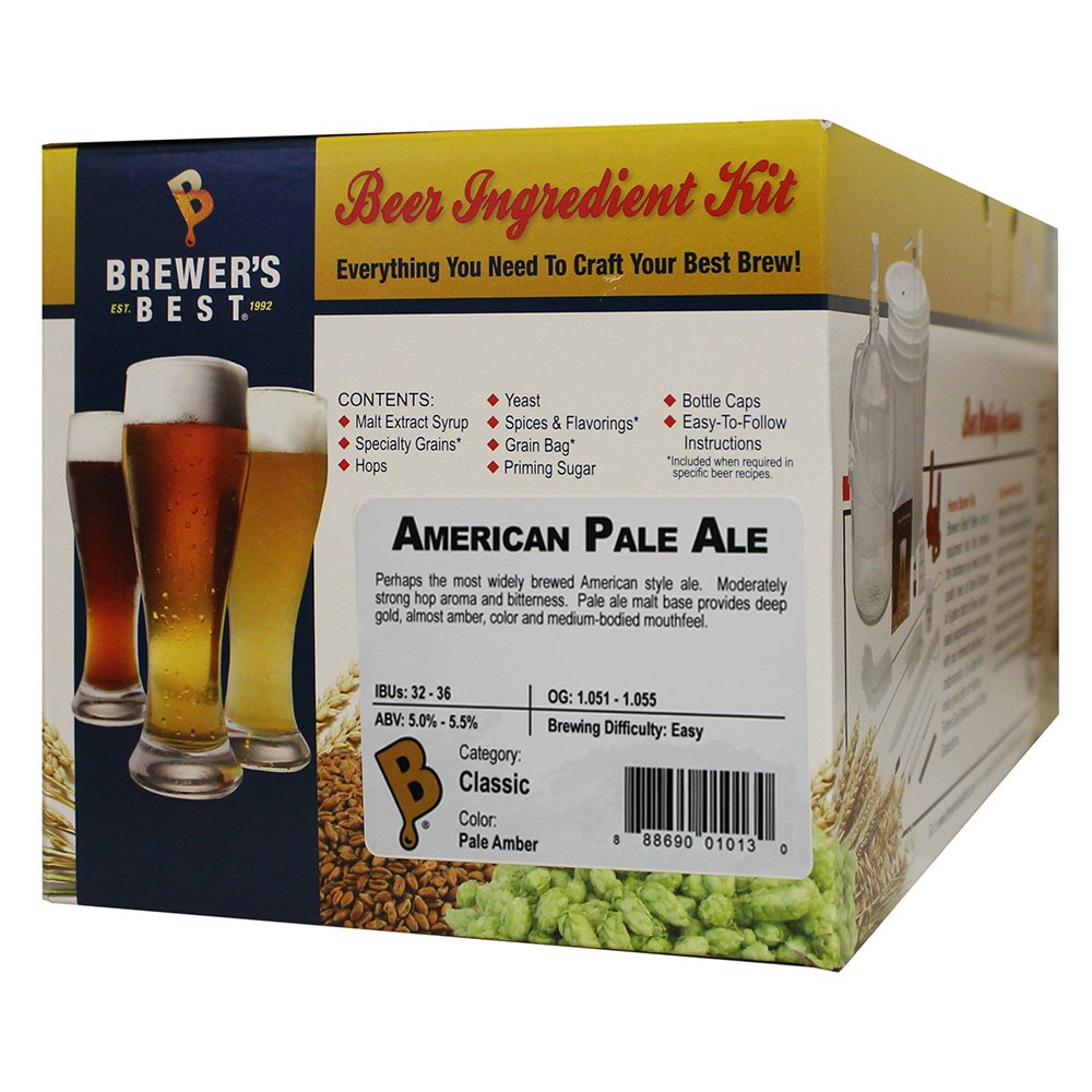 Brewers Best American Pale Ale Home Brewing Ingredient Kit by Brewer's Best