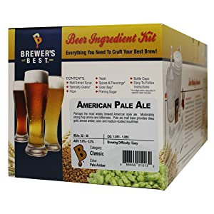 Brewer's Best - Home Brew Beer Ingredient Kit (5 gallon), (American Pale Ale)