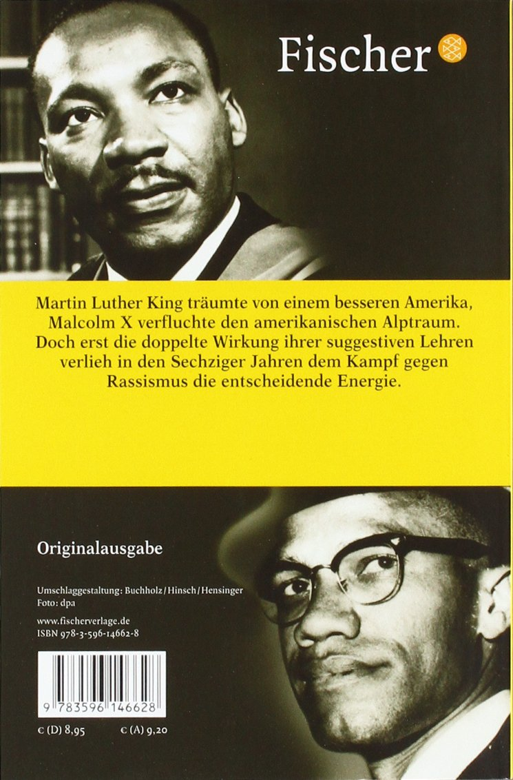 Martin Luther King Malcolm X Amazon Britta Waldschmidt Nelson