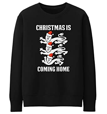 b59006187c5 Christmas Jumpers for Men - England Football Its Coming Home Christmas  Sweater - Mens