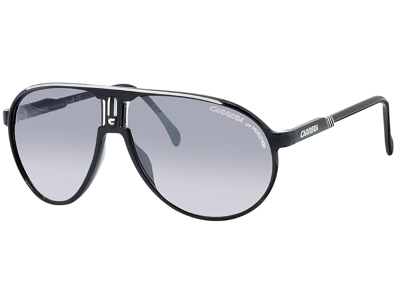 48f762eaf90b Amazon.com: Carrera Champion BSC Black and Silver Champion Aviator  Sunglasses Lens Category 2: Carrera: Shoes