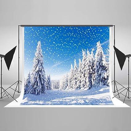 KateHome PHOTOSTUDIOS 3X2m Navidad Foto de Fondo Iceworld Telón de Fondo Nieve Invierno Retrato Fondos Microfibra Accesorios de Fotos: Amazon.es: Electrónica