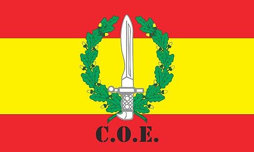 Durabol Bandera de España C.O.E-Compañía Operaciones Especiales ...