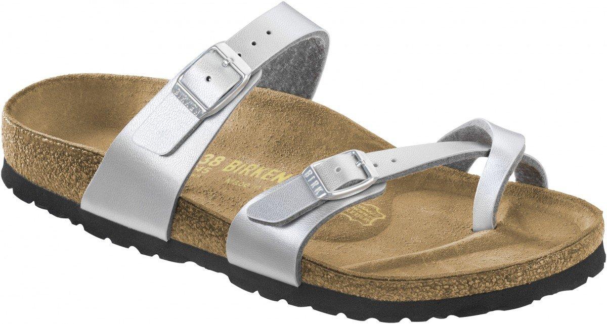 Birkenstock MAYARI BF GRACEFUL 71611 - Sandalias de vestir para mujer 43 EU|Graceful Silver (1009608)