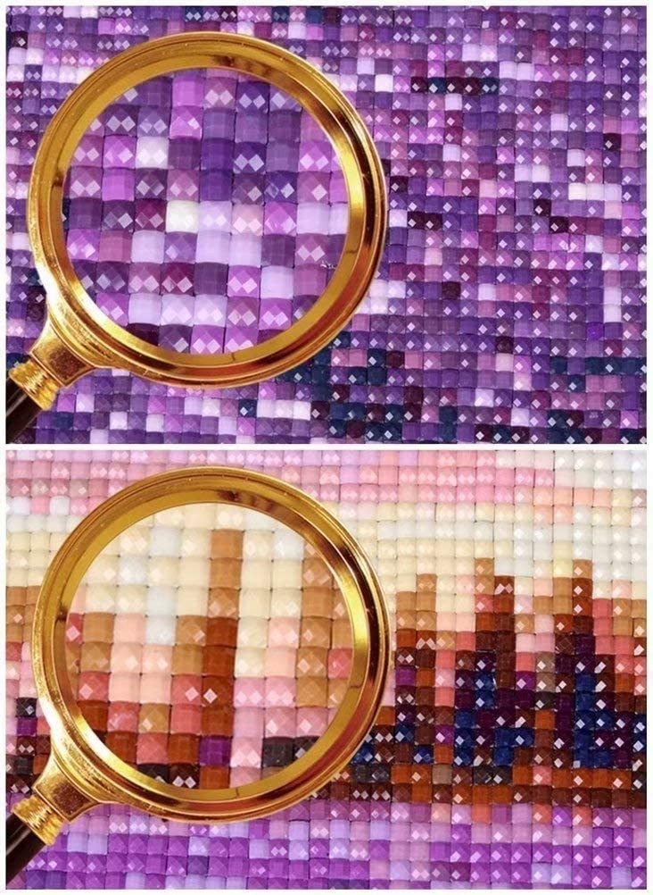 5D DIY Diamond Painting Kits Cup Cake Cat Full Drill Rhinestone Painting for Christmas Home Decor 10x10 inch 25x25cm