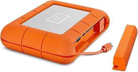 LaCie Rugged Boss SSD de 1 TB - Unidad de Estado sólido, USB-C USB ...