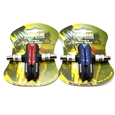 2* Paire de vélo de montagne Vélo tous les temps VTT ATB V-Brake Pads/blocs