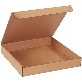 BOX USA Cajas para enviar documentos por correo, de cartón Kraft ...