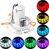 LumenBasic Camping USB led Light Strip LED Color Changing Rope Light for Outdoor Camping, Hiking, Safety and Emergencies - USB powered Color LED String Light that Doubles as a LED Lantern