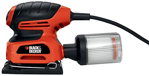 Black Decker QS900 1 4-Sheet Sander with Filtered Dust Collection