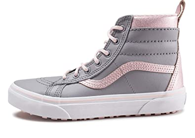 Vans UY SK8-Hi MTE Metallic Heavenly Pink Suede 5 M US Big Kid cf639b733bc4c