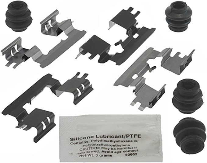 ACDelco 18K891X Professional Front Disc Brake Caliper Hardware Kit with Clips
