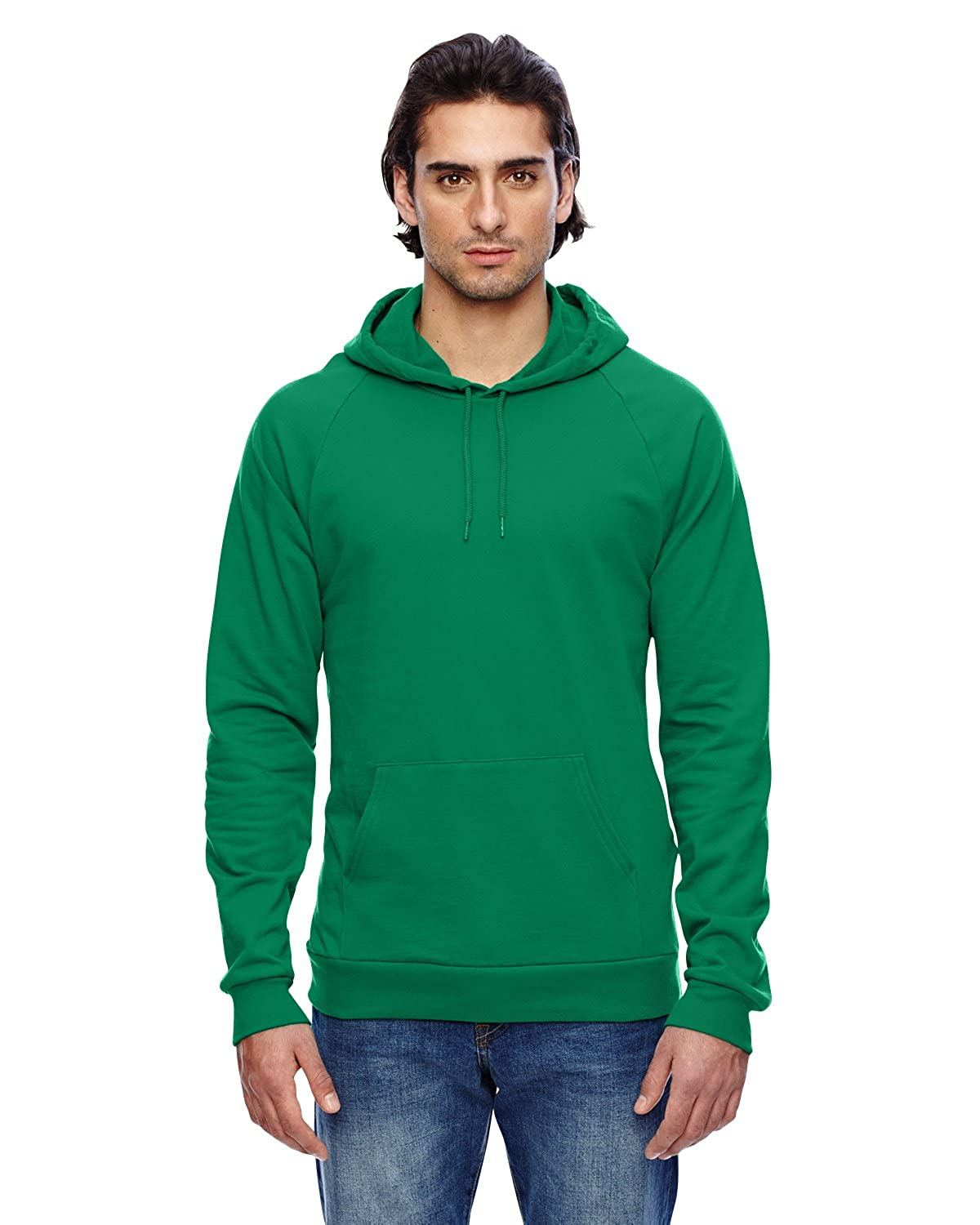 American Apparel Men's California Fleece Pullover Hoodie American Apparel Mens 5495