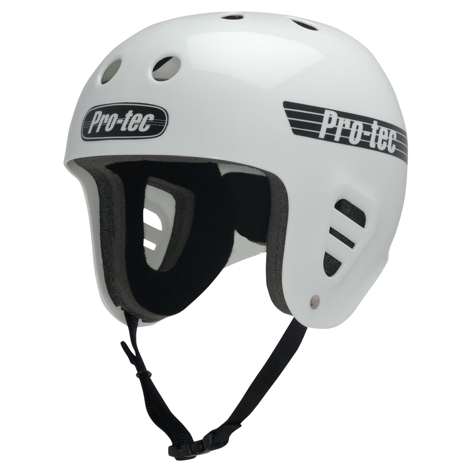 Pro-Tec Full Cut Skate, Gloss White, S