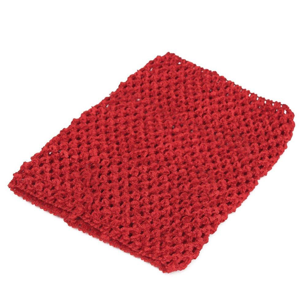 Tandou Children Wear 6''Crochet Tube Top Elastic Waistband Headband Hair Band Girls Tutu Skirt