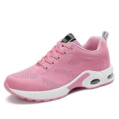 Donna Scarpe da Ginnastica Corsa Sportive Fitness Running Sneakers Basse Interior Casual all'Aperto