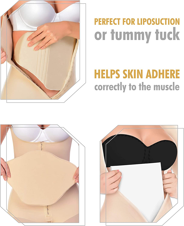 M/&D Tabla Abdominal Lumbar Molder BBL Back Lipo Ab Board Post Surgery Supplies Combo