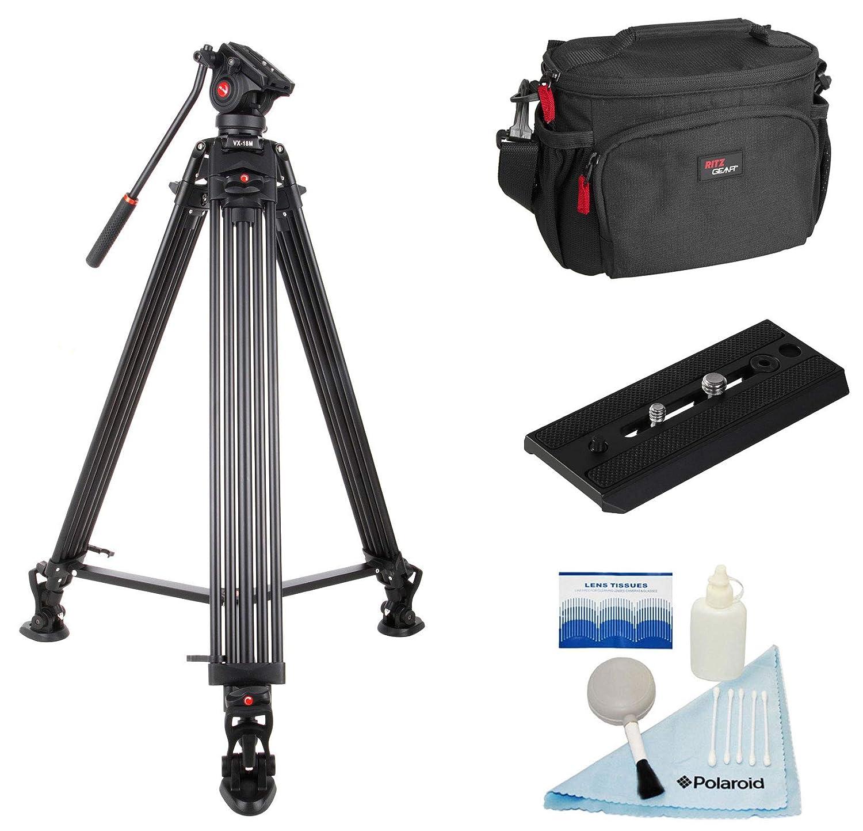 激安通販新作 Viltrox VX-18M ビデオカメラ Viltrox/カムコーダー プロフェッショナル アルミニウム合金 VX-18M 3セクション三脚 B07Q5CGWT8 フリーキット付き ストーンバッグカメラ/カムコーダーケース、レンズクリーニングキット B07Q5CGWT8, ドリームクラフト&ビッグボス:27cfa7b4 --- martinemoeykens.com
