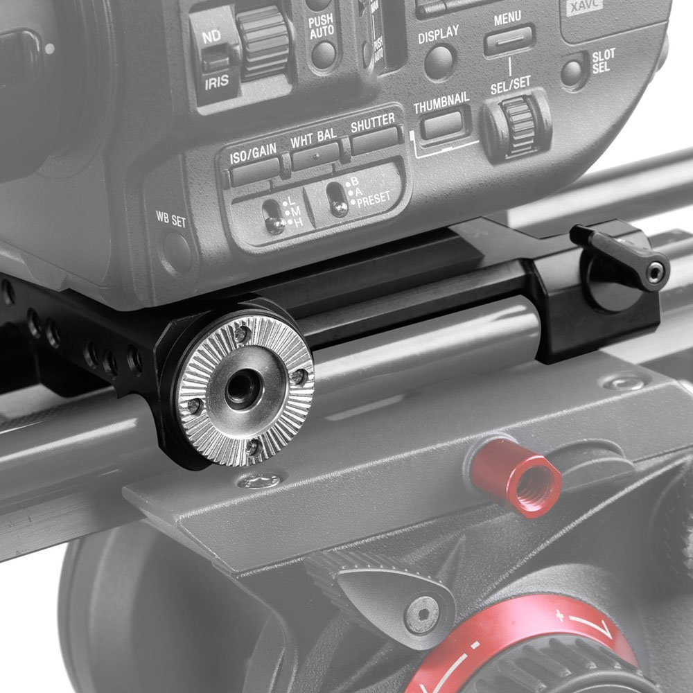 Amazon.com : SmallRig Baseplate for Sony FS5 with Two ARRI ...