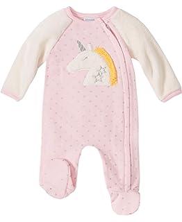 absorba Baby Girls Footie-Pockets