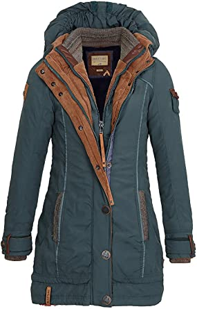 Naketano A Woman will Rise Up IV W winter jacket green