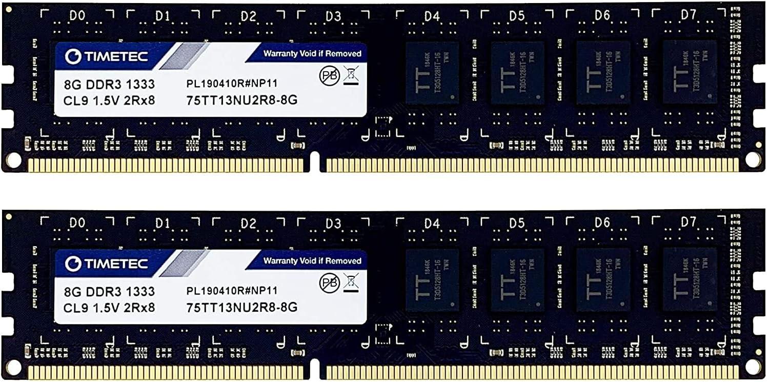 2GB Memory Upgrade for ASRock Motherboard 880G Pro3 DDR3 PC3-10600 1333MHz DIMM Non-ECC Desktop RAM PARTS-QUICK Brand
