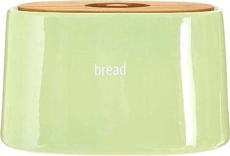 céramique Fletcher bread crock vert bambou couvercle