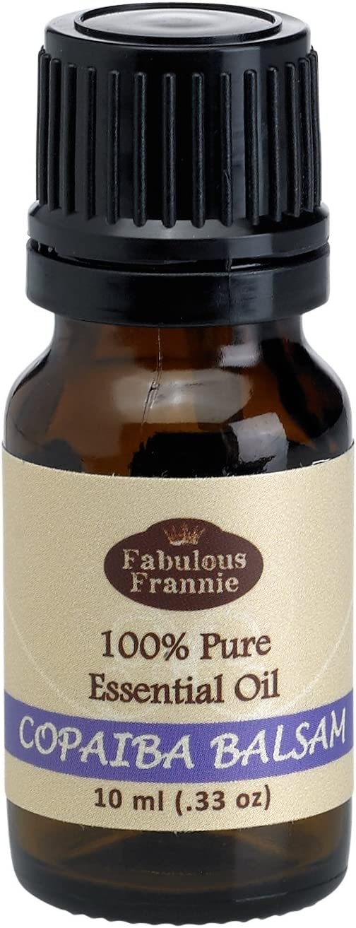 Copaiba Balsam 100% Pure, Undiluted Essential Oil Therapeutic Grade - 10ml- Great for Aromatherapy!