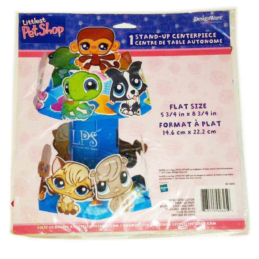 1 per package Littlest Pet Shop Centerpiece