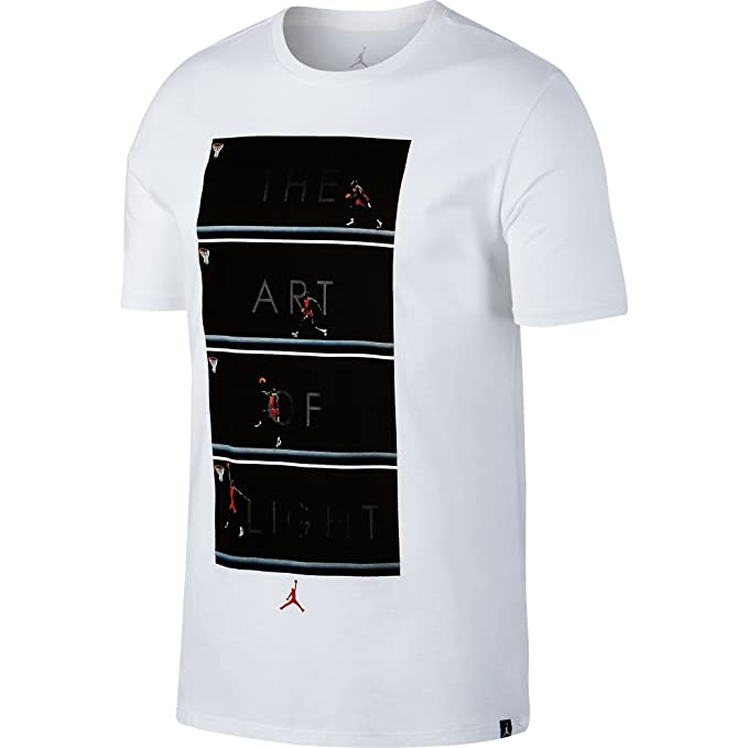 Camiseta Jordan – The Art Of Flight blanco talla: S (Small)