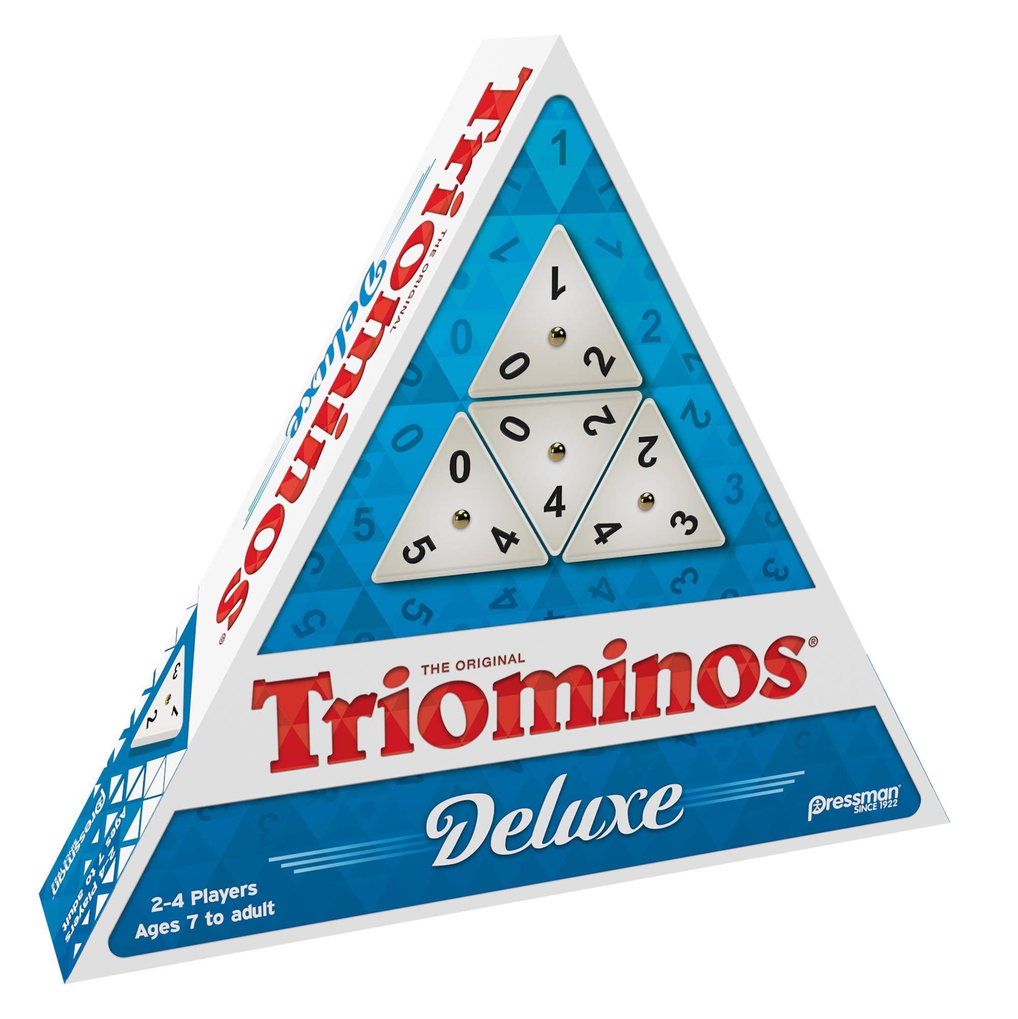 Pressman Tri-Ominos Deluxe Game by Pressman