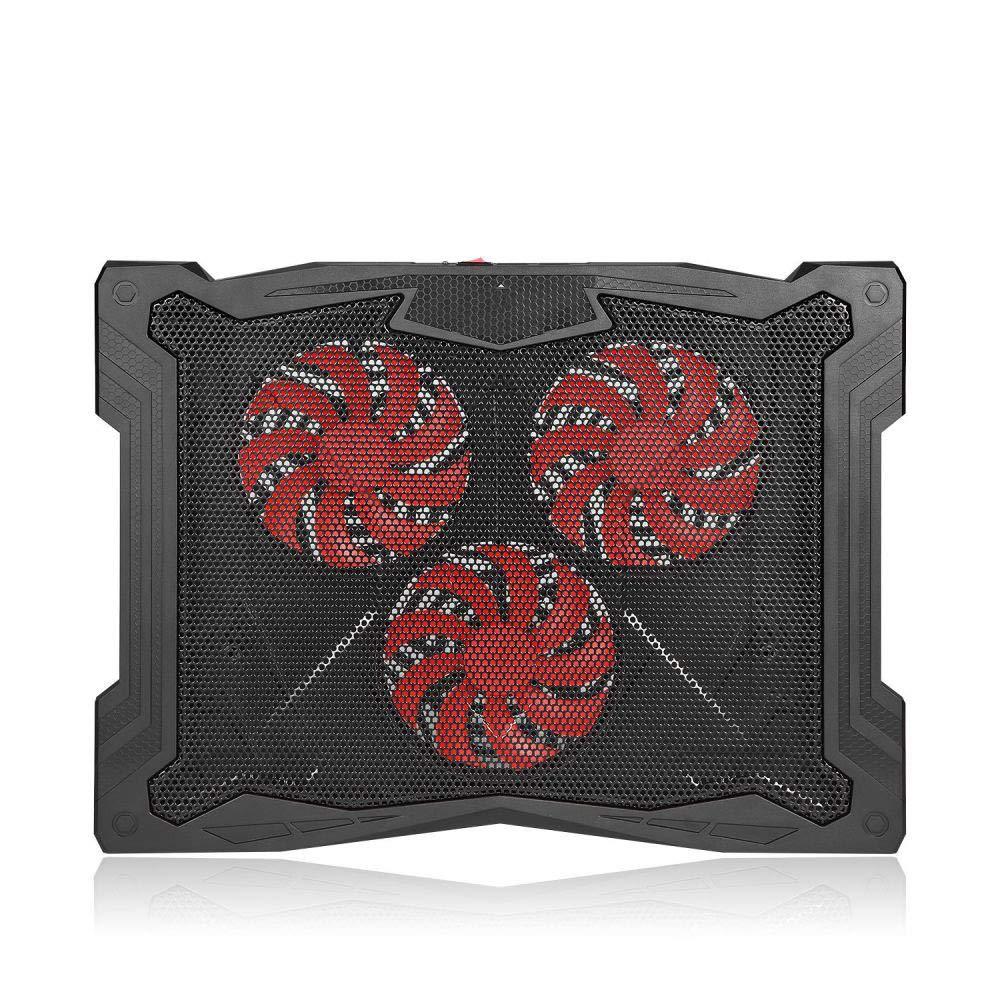 yayoushen Altura del portátil ventilador del radiador 3 ajustable portátil del base/cojín de enfriamiento 3c2bc1
