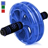 Epitomie Fitness BIO Ab Roller Wheel - Ab Carver Exercise Equipment with Fitness Mat to Strengthen Abdominals and Tone Core