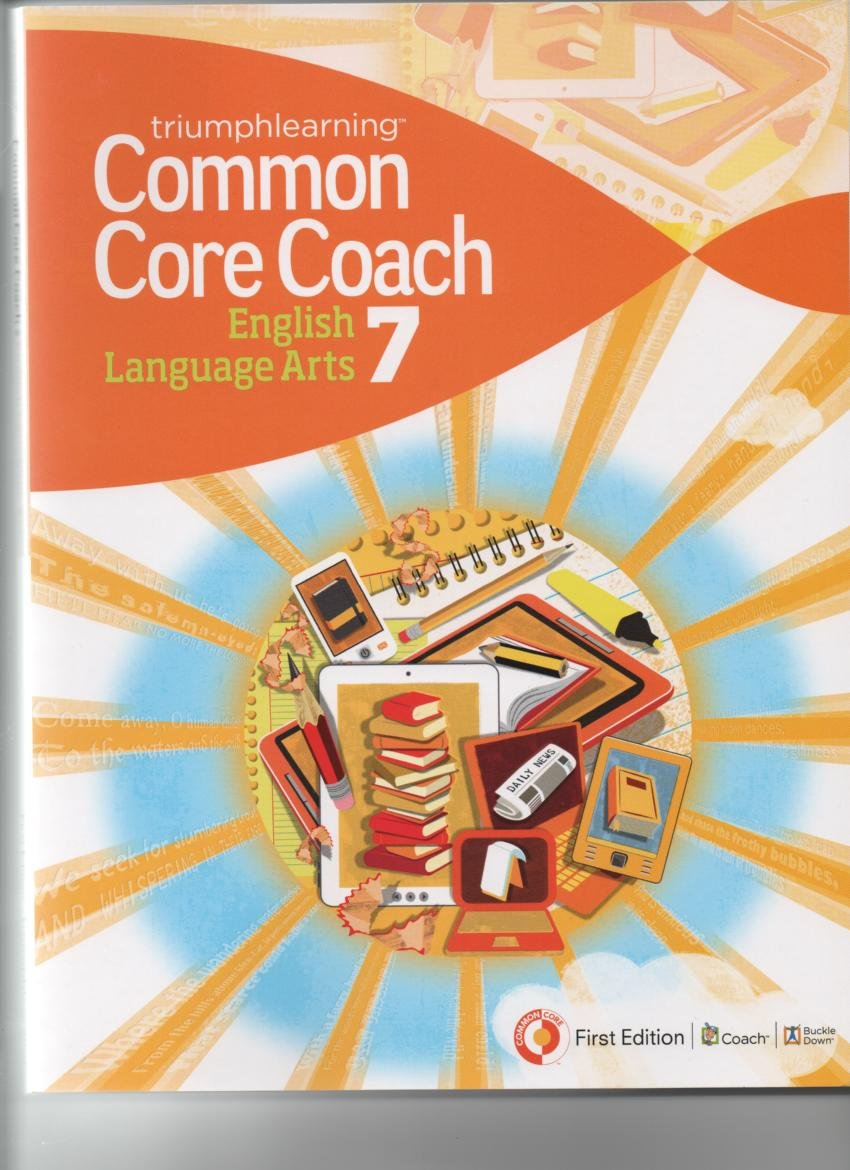 Download Common Core Coach English Language Arts 7 First Ed. ebook